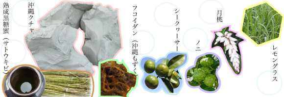 沖縄の天然素材